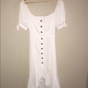 VICI boho white dress